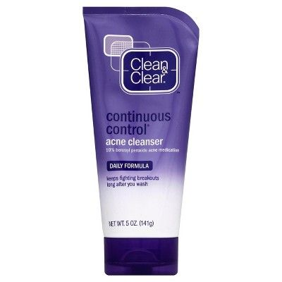 Clean & Clear Continuous Control Acne Cleanser – 5 fl oz