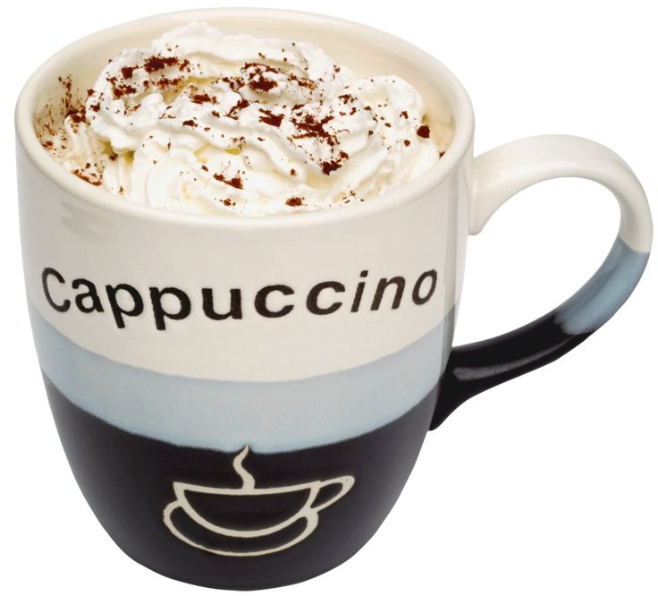 Cup of Cappuccino PNG Picture | gif nápoje | Pinterest | Cappuccinos ...
