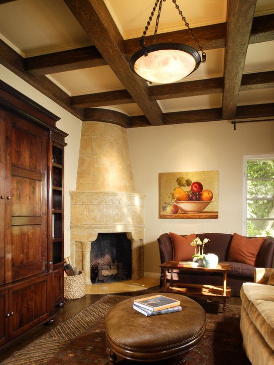 1000 Ideas About Corner Fireplace Decorating On Pinterest