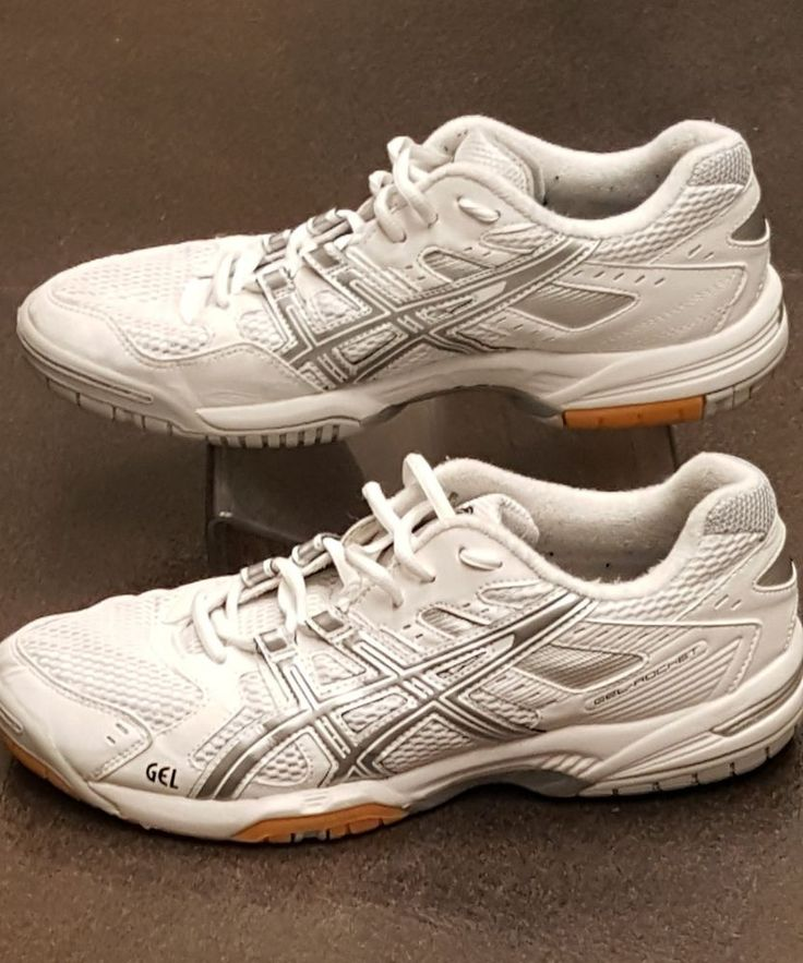 Asics Gel-Rocket B257N Women's Volleyball Shoes White/Silver Size 10 | Clothing, Shoes & Accessories, Women's Shoes, Athletic | eBay!