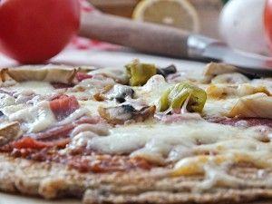 Low Carb Pizza Taxi - Happy Carb Rezepte