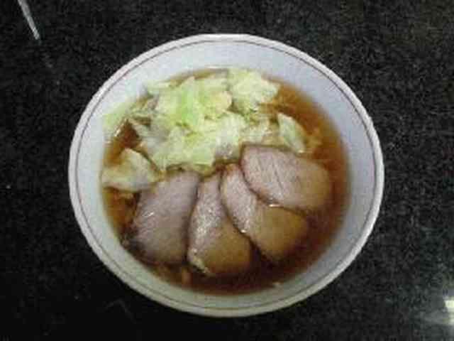 簡単ラーメンスープ(醤油味)の画像