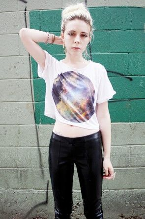Cosmicspot Crop Top