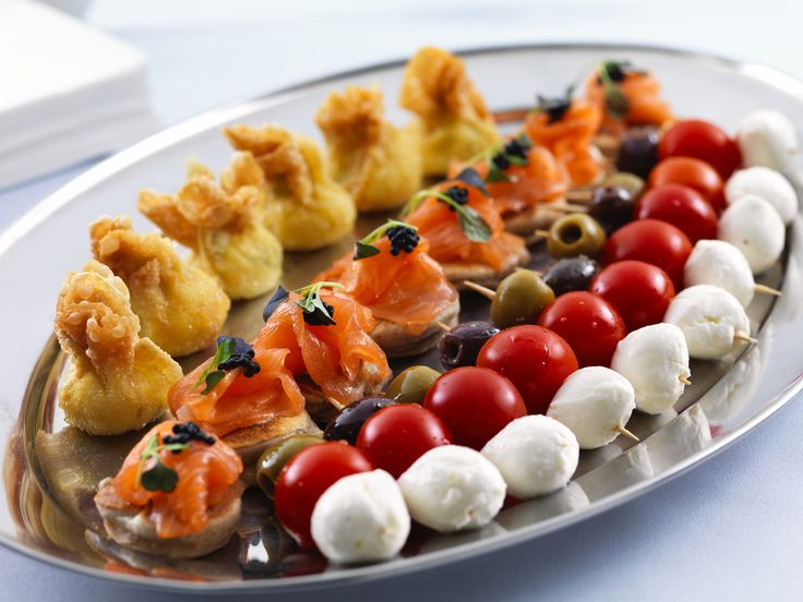 Canapes In Our Beautiful Wedding Venue The Rhydding Suite