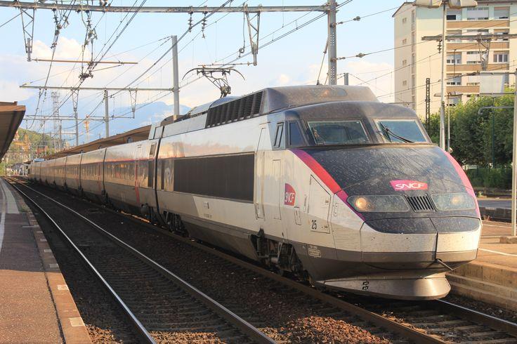 Rame TGV 25 Aix les Bains (Savoie)