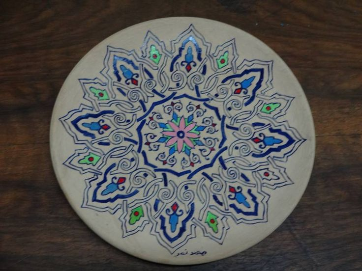 Ceramic Art | https://www.facebook.com/ZakharefArts | #Moroccan #pattern