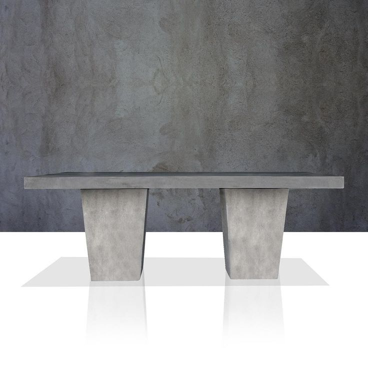 U201cTapered Leg Table #concrete #lightweightconcrete #grc #gfrc# Outdoor  Furniture #
