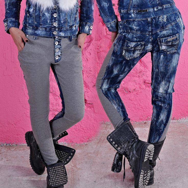 FOGGI Damenjeans Jeans Damenhose Hose Boyfriend Hüftjeans Hüfthose 36-40 #F62