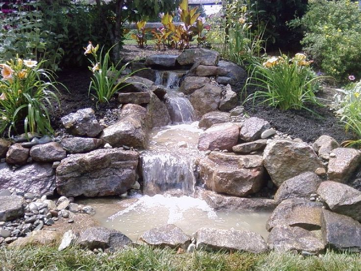 112 Best Images About Pondless Waterfall Designs On