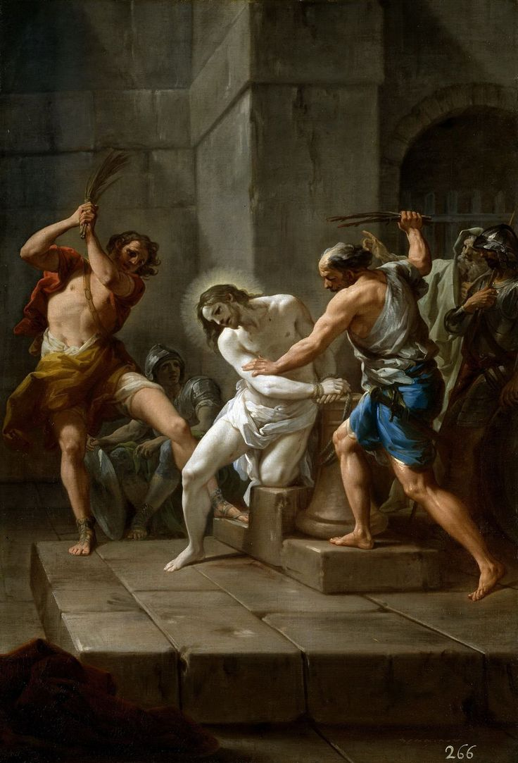 Corrado Giaquinto Flegelacion de Jesus