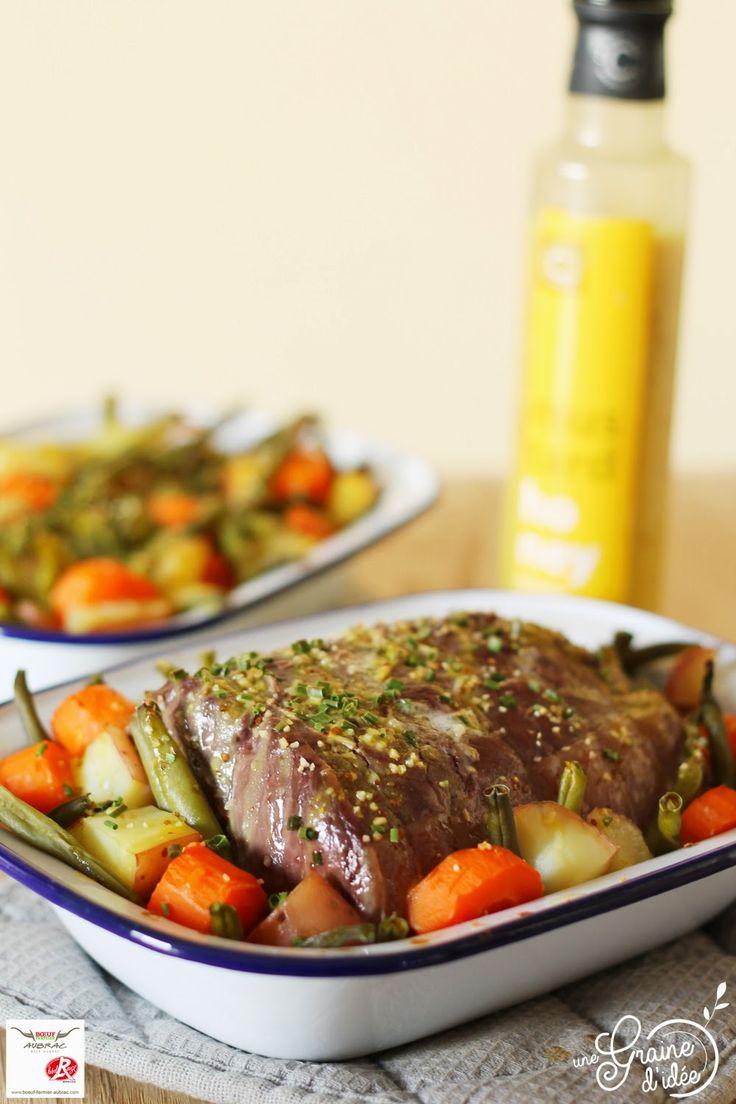 Roti de boeuf la moutarde au miel et aux l gumes de la - Idee de legumes a cuisiner ...
