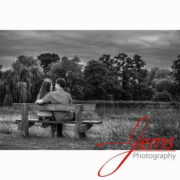 Engagement shoot at St Nicholas Park Kenilworth, Nr Warwick, Warwickshire. Pre-wedding / engagement photo shoots are always good for the happy couple to learn how to relax in front of the camera.