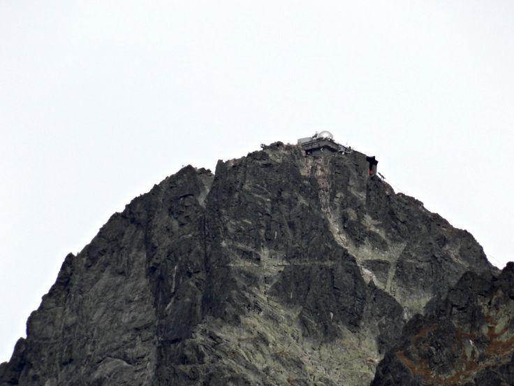 High Tatras, Slovakia. Lomnický peak. Nature, mountains. Turism