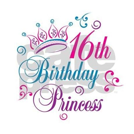 16th Birthday Princess 2 25 Quot Button By Designforobsessions