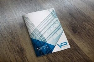 Catálogo promocional para a Vidraria da Póvoa
