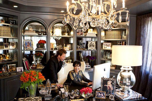 Kris Jenner's Office.