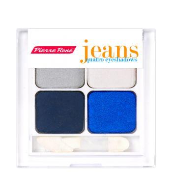 Cienie Poczwórne Quatro Z Kolekcji Jeans - Kosmetyki Pierre Rene - Pierre Rene