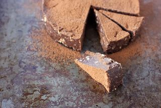 Food Is everything: rich chocolate slice recipe