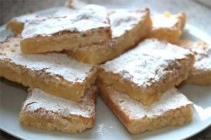 Delicious Lemon and Lime tray bake gluten-free