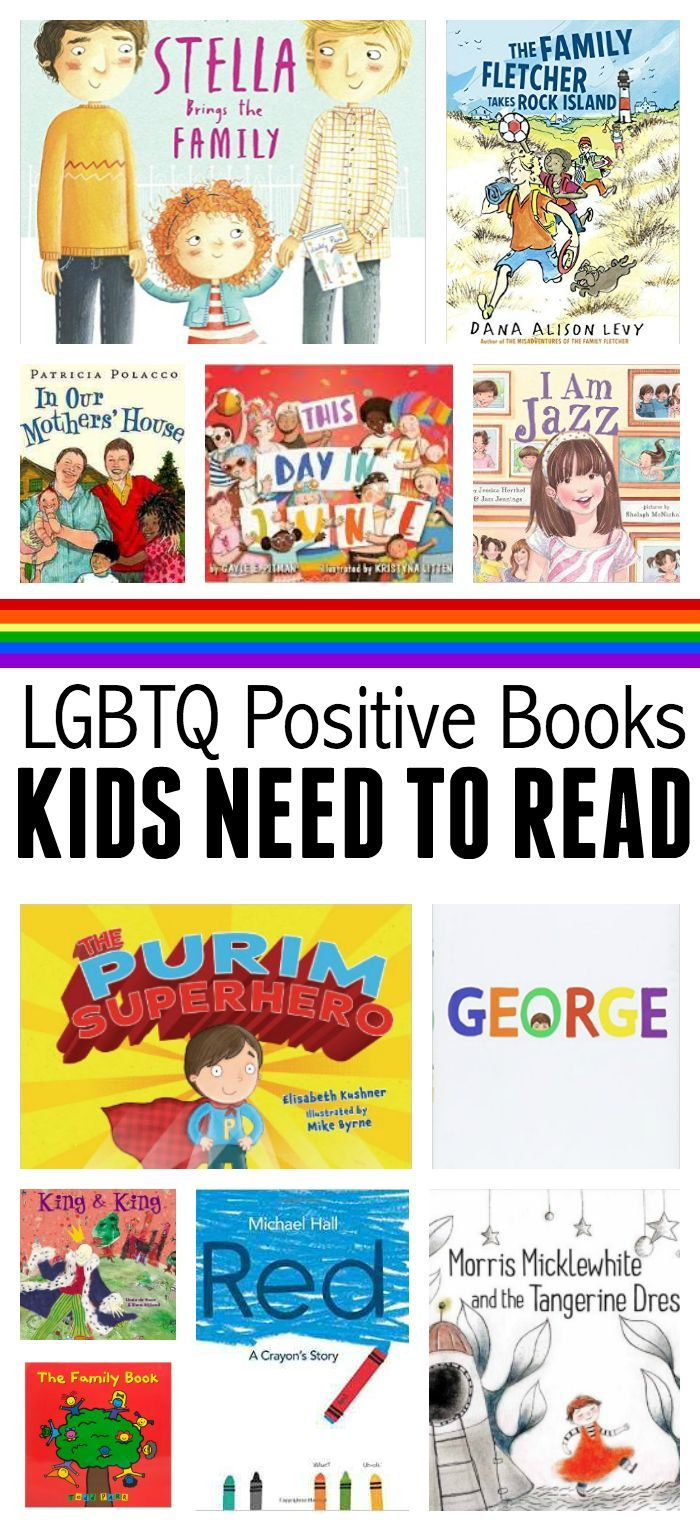 LGBTQ books for preschool and elementary school. Great book list from…