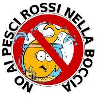 No ai pesci rossi nella boccia