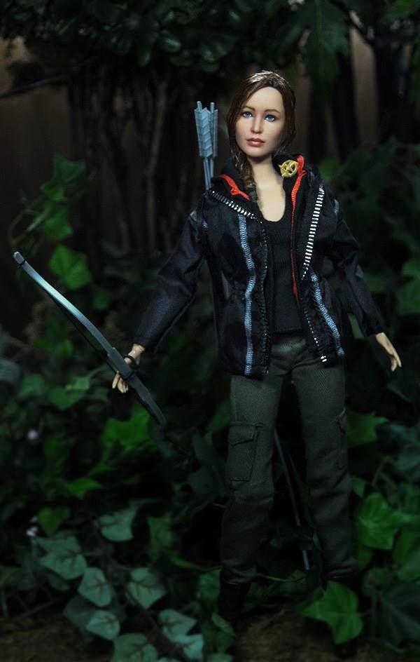 Jennifer Lawrence as Katniss Everdeen. | Hunger games