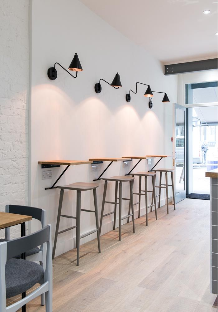 New-York black & copper wall light