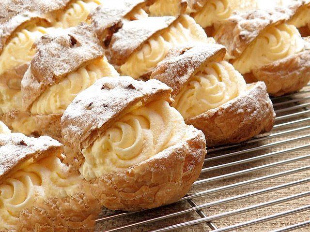 bigne con crema di ricotta #ricettedisardegna #cucinasarda #sardinia #recipe