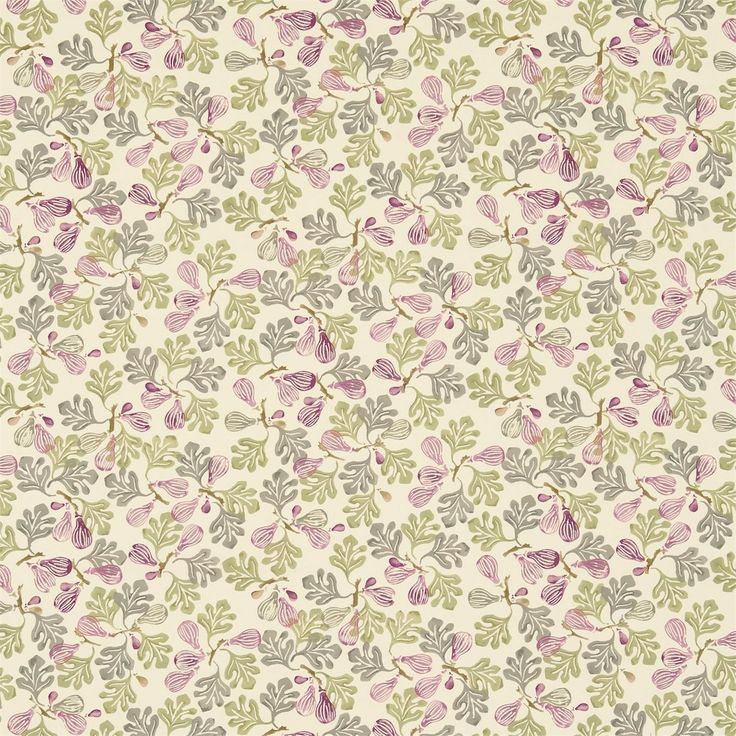 British  Wallpapers - Emma Bridgewater Figs Fabric Rose Pink/Moss DEMB223427, £45.00 (http://www.britishwallpapers.co.uk/emma-bridgewater-figs-fabric-rose-pink-moss-demb223427/)