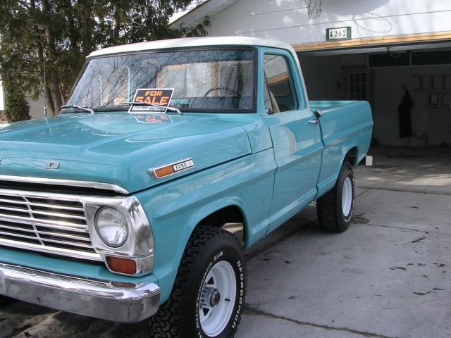 1968 Ford Truck Paint Colors | Peacock Blue 1968 Ford Truck - Paint Cross Reference