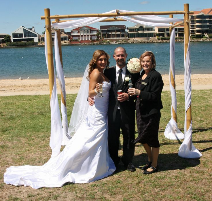 A beautiful wedding at West lakes Adelaide