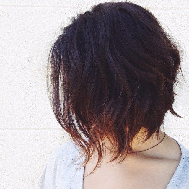 Best 25+ Textured Bob Hairstyles Ideas On Pinterest