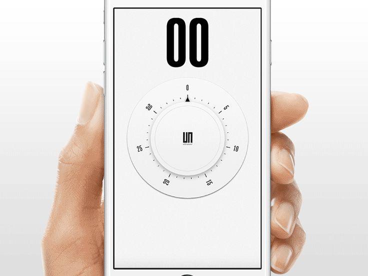 Original timer app - UX interaction
