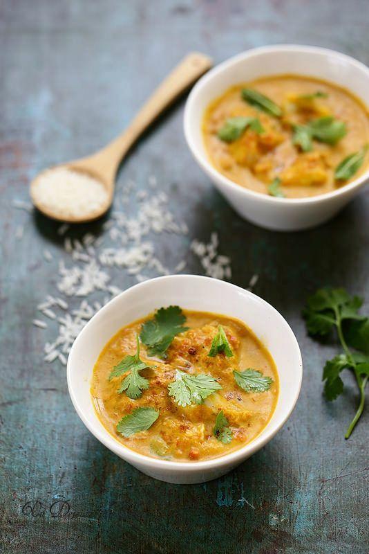 Curry de poisson à l'indienne                                                                                                                                                     Plus