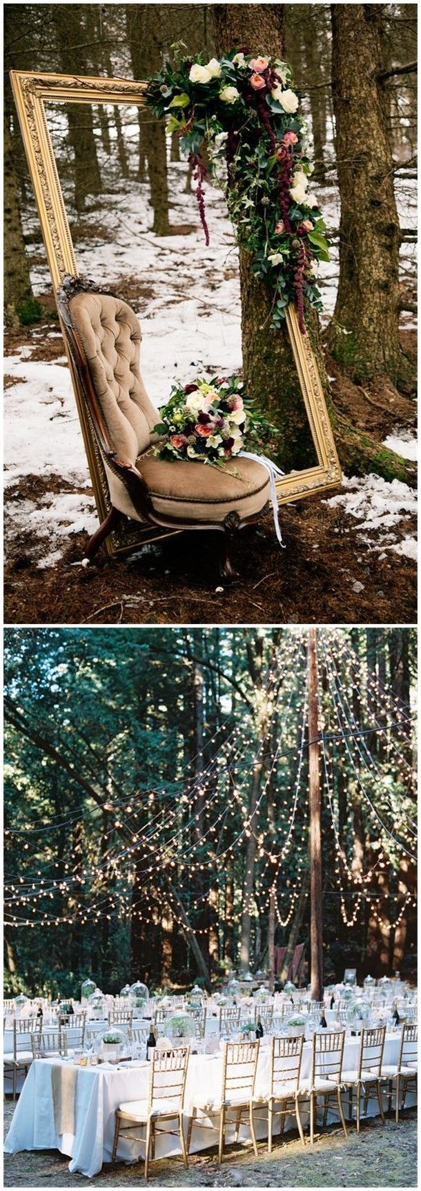 Rustic Weddings » 20 Woodland Wedding Ideas You Can Get Inspired » ❤️ See …