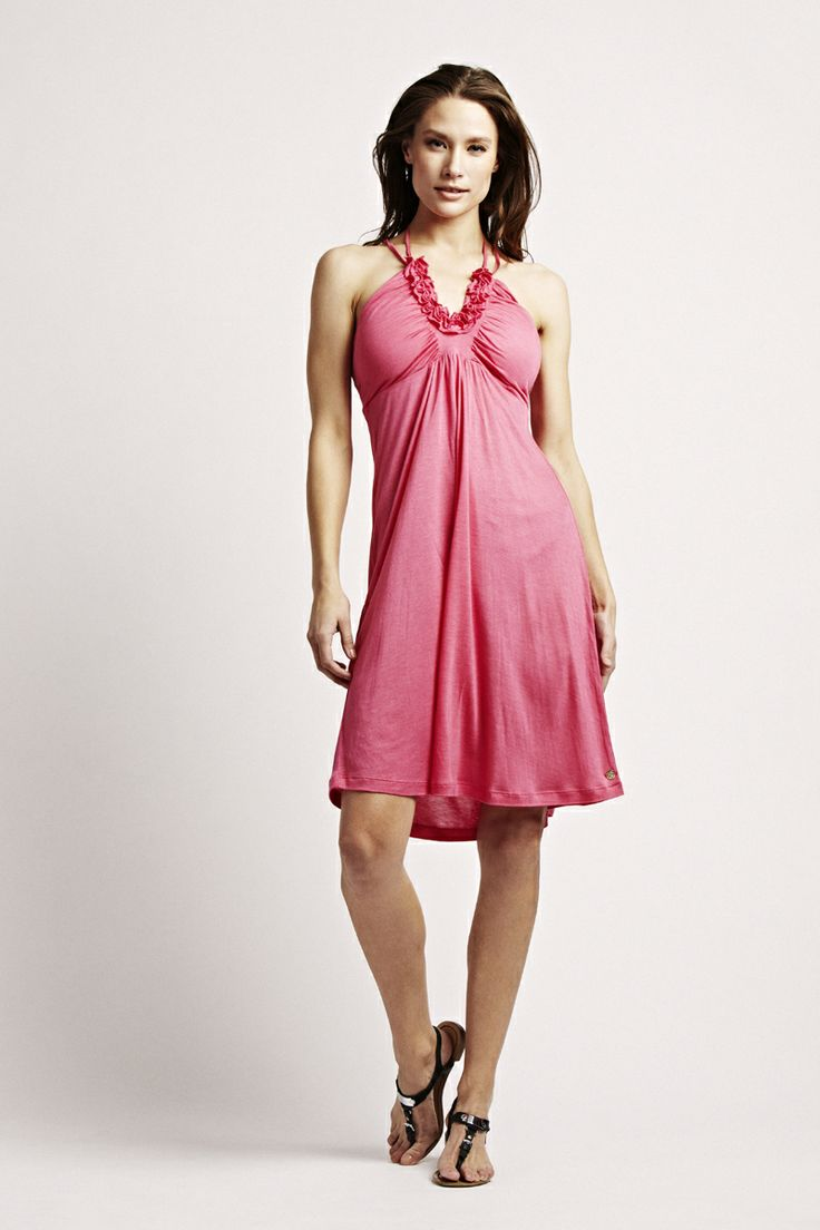 Florence Design strappy dress in hot pink! <3