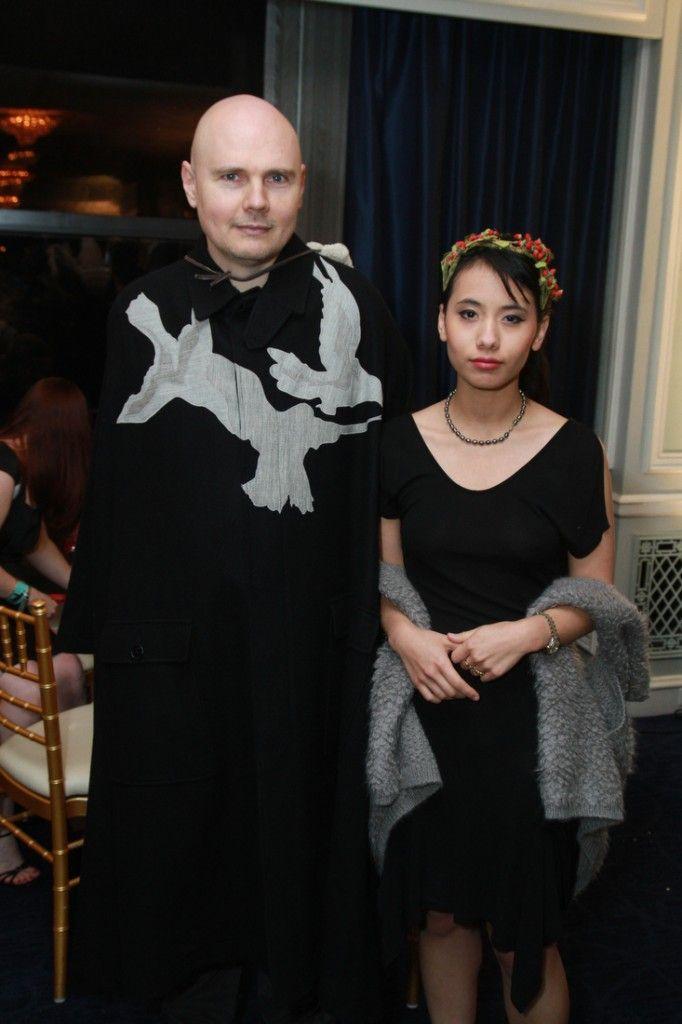 Billy Corgan And Chloe Mendel Smashing Pumpkins