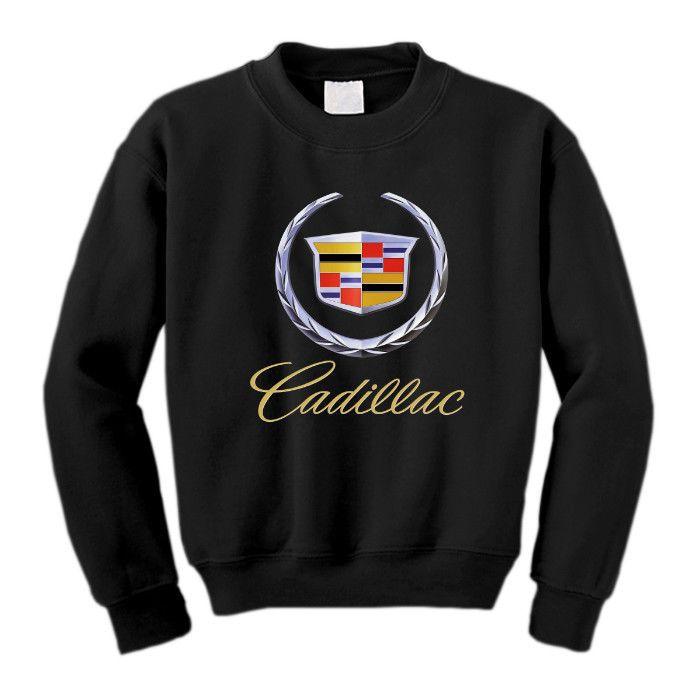 Sweatshirt Cadillac Emblem Logo