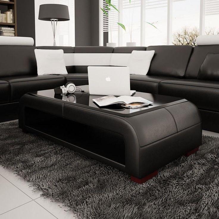 Mejores 51 imágenes de Leather Coffee Tables en Pinterest   Mesa de ...
