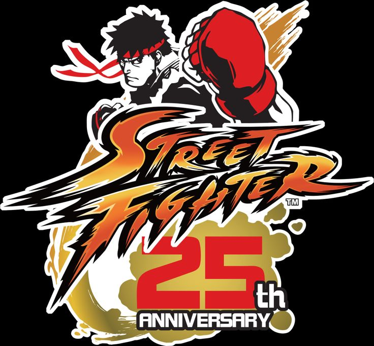 Capcom Street Fighter 25th Anniversary Logo