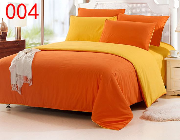 Orange Bed Linen Set Promotion For Promotional
