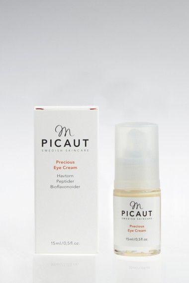 Precious Eye Cream, 15 ml - M Picaut. Kanonbra ögoncreme som minskar fina linjer, rynkor och mörka ringar under ögonen samt ger silkeslen finish.