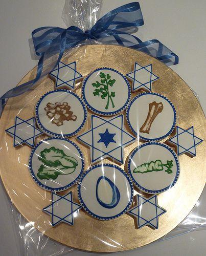 Passover Seder Plate | Cookievonster Design 2011 - Cookie is… | Flickr