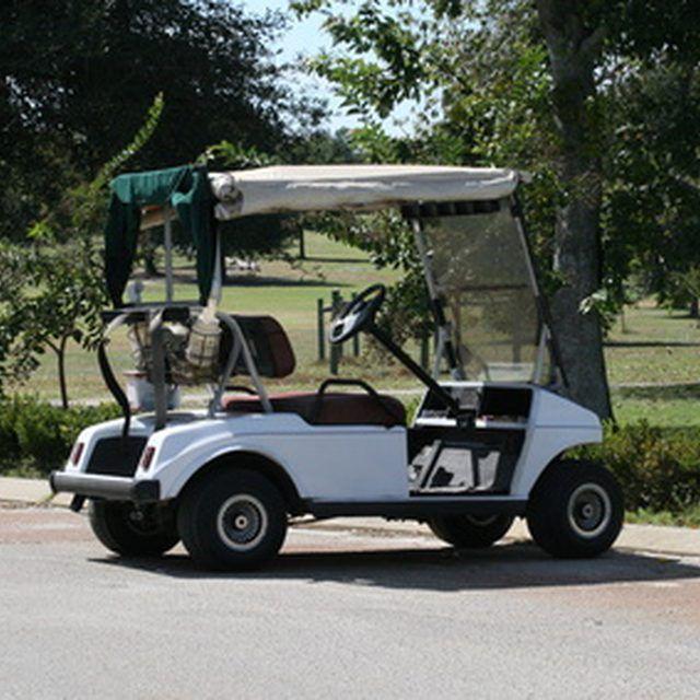 how to make a golf cart