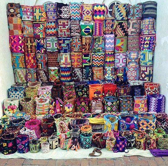 Veja onde encontrar as bolsas Wayuu