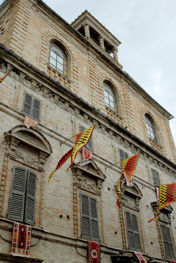 Palazzo Filoni Vecchiotti lato Est. #marcafermana #servigliano #fermo #marche