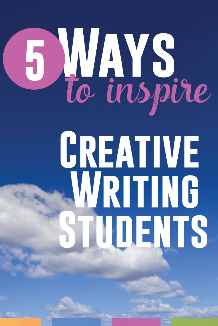 creative writing lessons for high school students Engaging writing activities to increase skills and motivation for middle school students by alicia accapezzato submitted to the department of education and human .