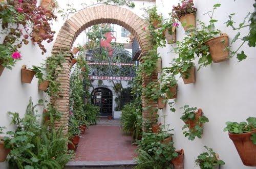 Restaurante El Caballo Rojo, en Córdoba (España).