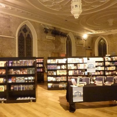 The Gutter Bookshop at Smock Alley Theatre for the 2012 Dublin Book Festival