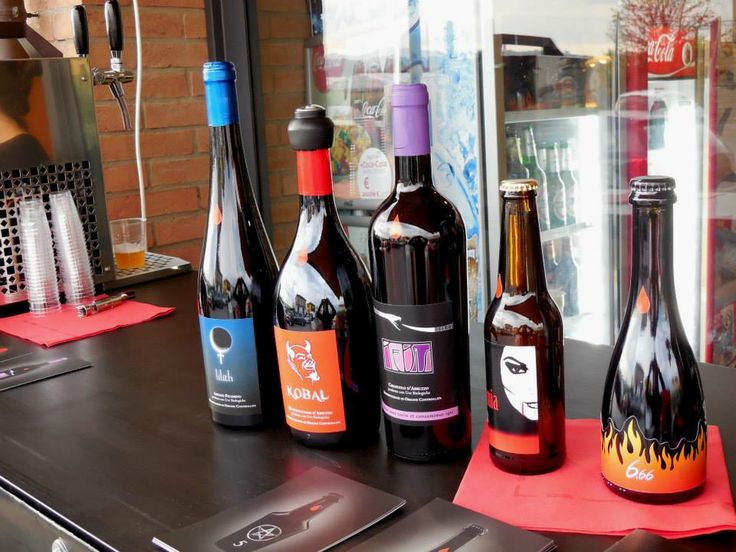 Sinistro's wines and beers at Delice Ristorantino (Pescia)